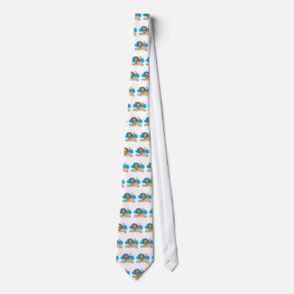 goofy laying lion tie