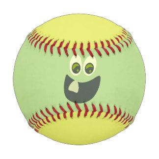 Goofy Lemon Lime Face Baseball