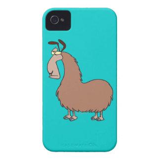 goofy llama cartoon Case-Mate iPhone 4 cases