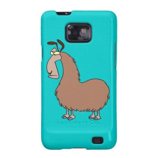 goofy llama cartoon samsung galaxy case