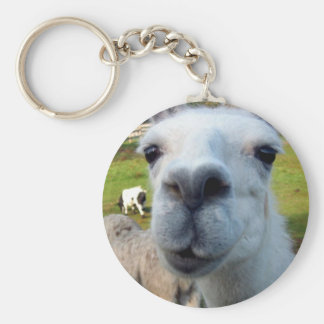 Goofy Llama Keychain