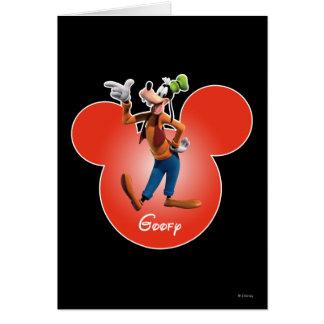 Goofy | Mickey Head Icon Card