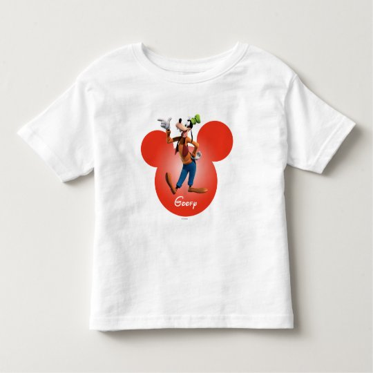 Goofy   Mickey Head Icon Toddler T-shirt