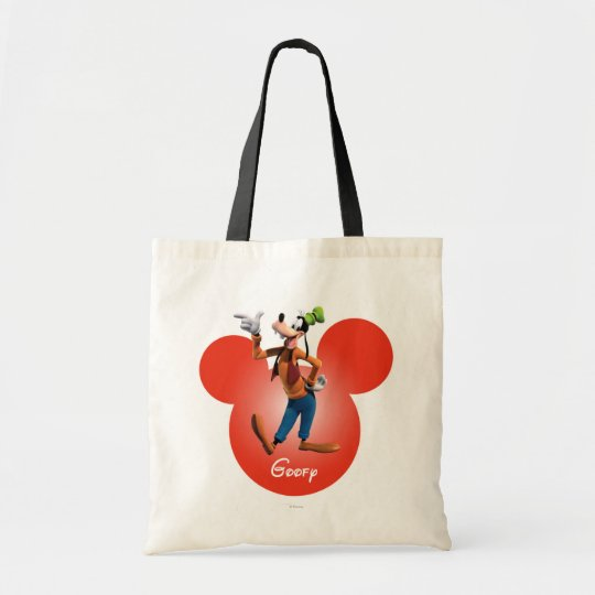 Goofy | Mickey Head Icon Tote Bag
