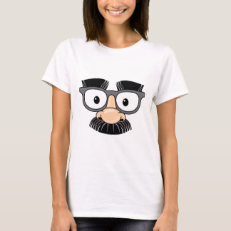 Goofy Mustache and Glasses Disguise T-Shirt