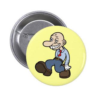 Goofy Office Guy Button