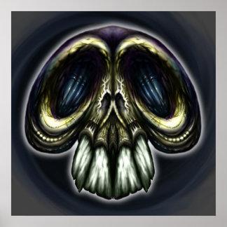 Goofy Ornate Skull Posters