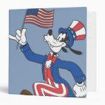 Goofy | Patriotic Binder