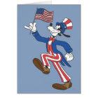 Goofy   Patriotic Card