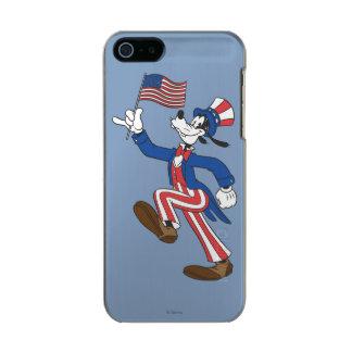 Goofy | Patriotic Metallic Phone Case For iPhone SE/5/5s