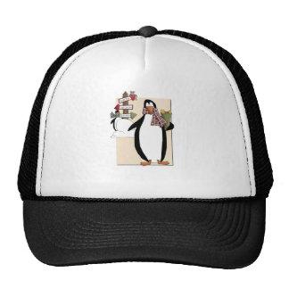 Goofy Penguins Mesh Hat