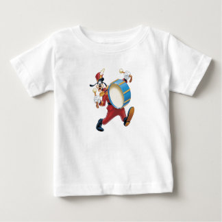 Goofy Playing a Drum Baby T-Shirt