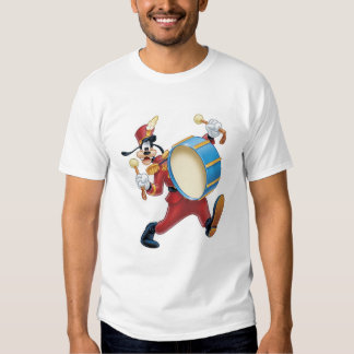 Goofy Playing a Drum Tee Shirts