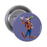 Goofy Pointing 2 Inch Round Button
