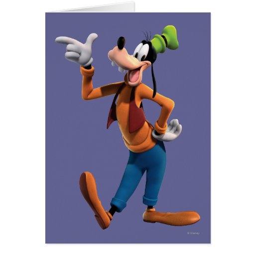 Goofy | Pointing Card