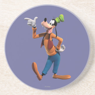 Goofy | Pointing Drink Coaster