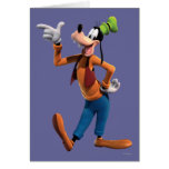 Goofy Pointing Greeting Card