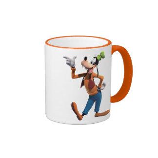 Goofy | Pointing Ringer Mug