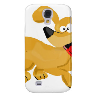 Goofy Puppy Cartoon Samsung Galaxy S4 Case