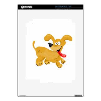 Goofy Puppy Cartoon iPad 2 Skins