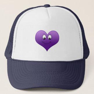 Goofy Purple Heart Hat