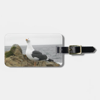 Goofy Seagull Luggage Tag