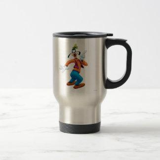 Goofy | Side Finger Up Travel Mug