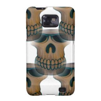 Goofy Skull Pattern Galaxy SII Cases