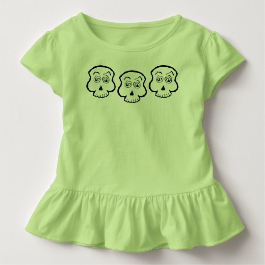 Goofy Skull Trio Toddler T-shirt