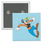 Goofy Slipping Pinback Buttons