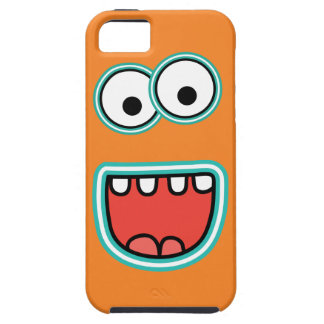 Goofy Smiling Googly Monster Face iPhone 5 Covers