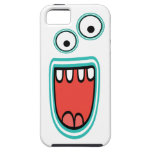 Goofy Smiling Googly Monster Face iPhone 5 Case
