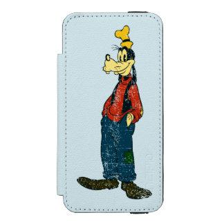 Goofy | Vintage Wallet Case For iPhone SE/5/5s