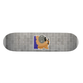 goofy werewolf monster skate board