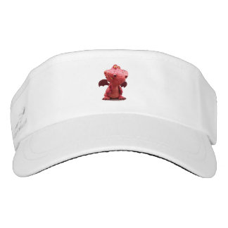 Goofy winged Red Dragon with crazy Smile Visor