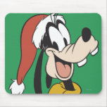 Goofy with Santa Hat Mousepads