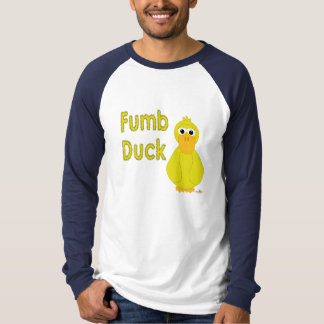 Goofy Yellow Duck Fumb Duck T-Shirt