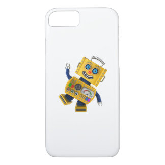 Goofy yellow toy robot iPhone 8/7 case