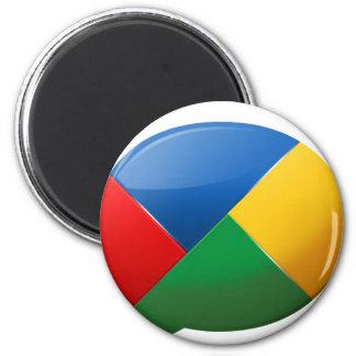 Google-buzz-fluid 2 Inch Round Magnet