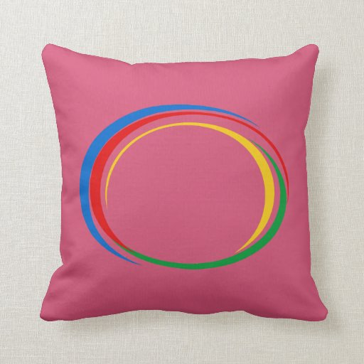 Throw Pillows Primary Colors : Google colors throw pillows