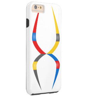 Google colors tough iPhone 6 plus case