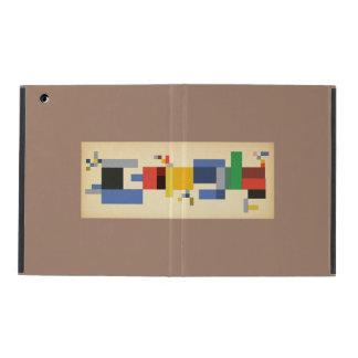 Google Doodle Fan Art - S.Taeuber-Arp's 127th BDay iPad Folio Case