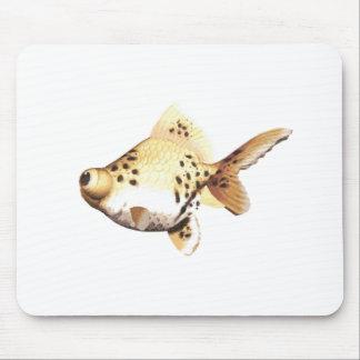 Google Eyed Goldfish 4 Mouse Pad
