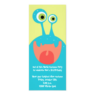 Google Eyed Monster Personalized Invitations