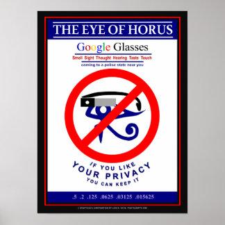 Google Glasses Poster