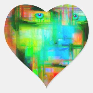 Google Glasses Heart Sticker
