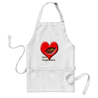Google Gold search Adult Apron