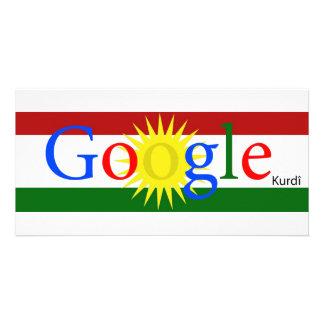 Google Kurdish By Sarezh Abdullahi Custom Photo Card