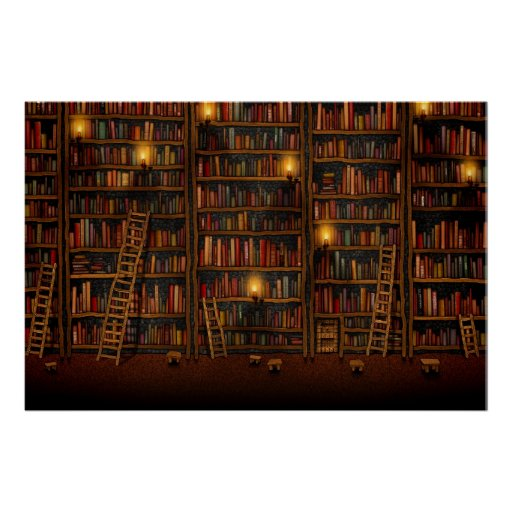 Google Library Poster