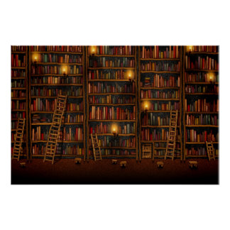 Google Library Posters